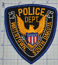 SOUTH DAKOTA, WATERTOWN POLICE DEPT EAGLE PATCH