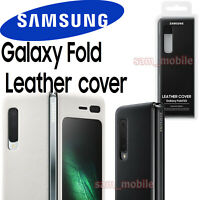 Original SAMSUNG Galaxy FOLD Leather cover EF-VF907 w/retail box NEW official
