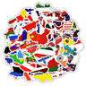 40 - Country Flags Stickers - Crafting Scrapbooking - Sticker Bombing Pack