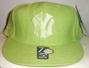 NEW VINTAGE NEW YORK YANKEES MITCHELL & NESS COOPERSTOWN FITTED HAT /PICK A SIZE