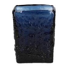 A Ruda Glasbruk Gote Augustsson vase Blue 1960's Swedish glass design