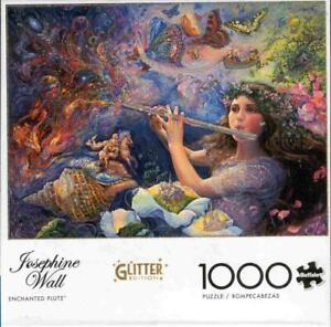 Josephine Wall 1000Pc Glitter Edition Jigsaw Puzzle Enchanted Flute NIB