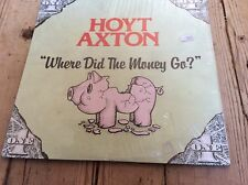 HOYT AXTON - Where Did The Money Go - 1980 Jeremiah Records L.P.