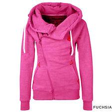 Women Winter Hooded Slim Coat Jacket Warm Sportwear Outwear Loose Hooded Coat xu