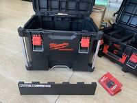 Battery Rack for M18 Batteries for Milwaukee Packout Trolley Box NO BOX INC