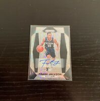 2017-18 Prizm Fast Break Autograph Rookie Card - Frank Jackson