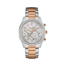 Caravelle Women's 45L148 Quartz Chronograph Crystal Accents Two-Tone 36mm Watch