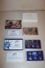 2007 US MINT PROOF SET 50 STATE QUARTERS PRESIDENTIAL DOLLARS Sacagawea 14 Coins