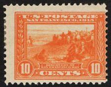 US Sc# 400a *MINT OG H* { 10c ORANGE PANAMA PACIFIC } PERF 12 OF 1913 CV$ 180.00