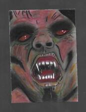 Vampire Color Sketch Card