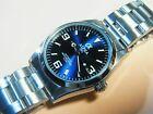 Brand New Alpha Explorer mechanical automatic men's watch IRON BLUE
