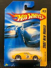 Hot Wheels Ferrari 250 LM 2007 New Models Yellow 023/180 NIP