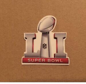Superbowl SB 51 Football Helmet Decal Sticker