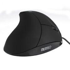 Wired USB Vertikal Maus Mouse 1200 DPI Ergonomisch für PC Notebook Mac Laptop
