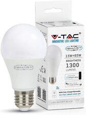 Lampadina, Lampada LED V-Tac Smart Wi-Fi E27 15W RGB compatibile Alexa-Google