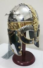 NORMAN VIKING ARMOR HELMET - GJERMUNDBU HELMET- SPECTACLE ARMOUR HELM