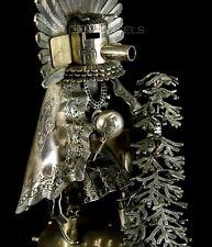 """Old Pawn Vintage Alvin Vandever 8"""" Sterling Silver Handmade Kachina Sculpture"""