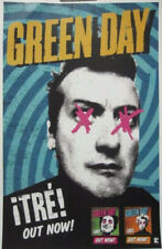 GREEN DAY 2012 !TRE! promotional poster New Old Stock Mint Condition
