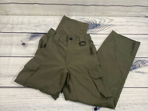 Boy Scouts Of America Switchback Convertible Uniform Pant/shorts Grn Sz Youth S