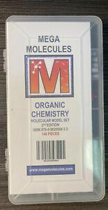 Mega Molecules Organic Chemistry 2nd Edition Model Set Science 136/140 Pieces