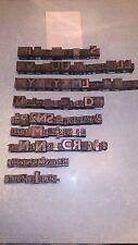 Lot de 175 lettres imprimerie en plomb anciennes  calligraphie autre lot 12