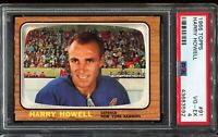 1966-1967 Topps Hockey #91 HARRY HOWELL New York Rangers PSA 4 VG-EX