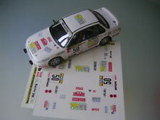 Decal 1 43 MITSUBISSHI GALANT N°50 Rally WRC monte carlo 1992 montecarlo