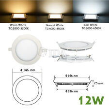 12W Bright CREE LED Recessed Ceiling Panel Down Light Bulb Lamp Warm White