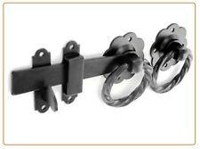 Anello di qualità in metallo Cancello Serratura Set grande porta da giardino di qualità Cattura MANIGLIA PIASTRA