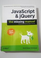 JavaScript and JQuery by David Sawyer McFarland (2011, Paperback)