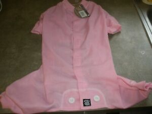 "NEW ""Thermal Underwear"" Dog Pajamas Sleepwear Clothes Large (Choose Color)"