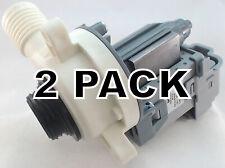 2 Pk, Washing Machine Drain Pump for Whirlpool, Sears, AP4514539, W10276397