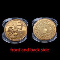 Year of Rat Commemorative Coin Chinese Zodiac Souvenir Coins 2020 Year Kids Gift
