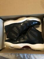 Nike Air Jordan XI 11 Retro GS BG Youth 72-10 Black White Red Size 7Y 378038-002