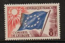 Francia sgc2 1958 del Consiglio d' Europa 8F MNH