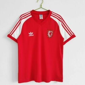 Wales 1982 retro home shirt S-2XL