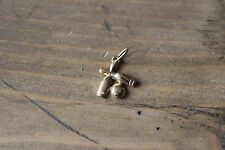 Gold Plated Bowling Pin Ball Charm