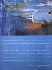 10/2000 PUB NORTHROP GRUMMAN UAV DRONE GLOBAL HAWK USAF ORIGINAL AD