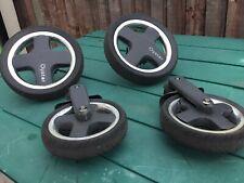 Oyster Pushchair Wheels, Full Set