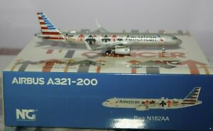 NG Model 13003 Airbus A321-231(WL) American Airlines N162AA in 1:400 Scale
