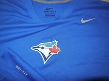 Nike Toronto Blue Jays Baseball Athletic Shirt Dri Fit Team Training Mens Medium