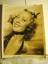 JOAN BLONDELL PUBLICITY 8 X 10  30'S   #4 -  FIRST NATIONAL -VITAPHONE