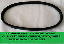 qualcast suffolk punch / atco  / webb replacement roller drive belt fast posting