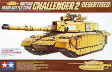 Tamiya 35274 British Battle Tank Challenger 2 (Desertised) 1/35 scale kit