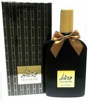 Oud Orchid Black perfume 100ml Spray Genuine Halal Eau De Parfum Jasmine, Lotus
