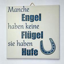 Dekofliese Wandbild Bildfliese Engel Flügel Hufe (119DP) Geschenkidee Fliese