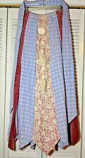 CHESSA DAVIS Peddlers Skirt Velvet & Lace BoHo Peasant Embellished Vintage Sz M