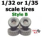 All 4pcs Orlandoo Hunter Big Block Ver B tires 1/35 & 1/32 + Free Shipping