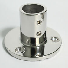 Boat Hand Rail Fitting 90 Degree 1'' Round Stanchion Base Marine Stainless Steel