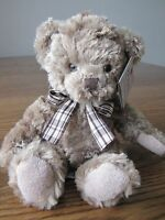 """Harry Bear Traditional Bears From The Past by Suki Gifts Med 8"""" NWT Soft Plush"""